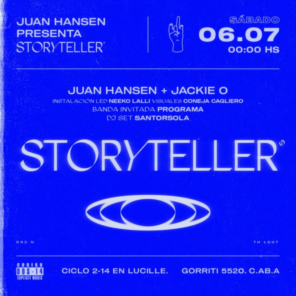 Storyteller Juan Hansen