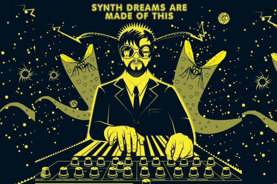"""Andy Tuohy Inmortaliza A 17 íconos De La Música Electrónica En """"Gods Of Synth"""""""
