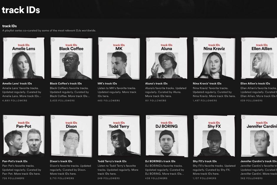 Spotify Presenta 'Track ID', Sus Nuevas Playlists Seleccionadas Por DJs