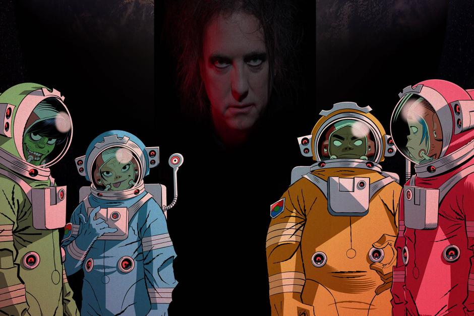 Escucha El Nuevo Single De Gorillaz Con Robert Smith De The Cure