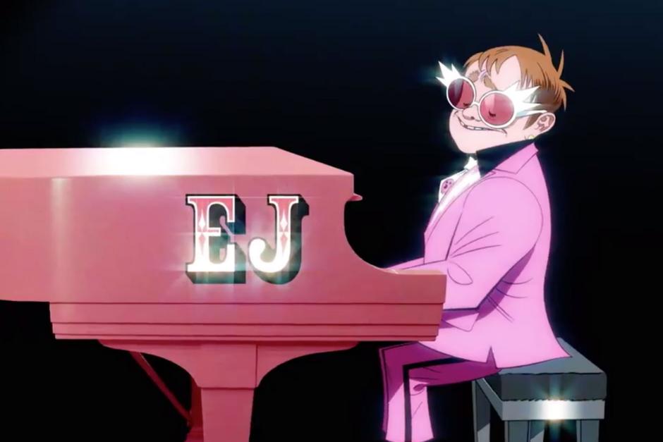 "Gorillaz Y Elton John Se Unen En ""The Pink Phantom"""
