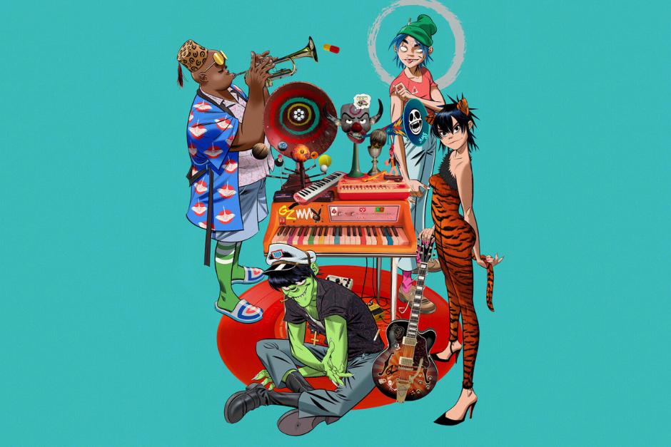 "Gorillaz Presenta Primera Temporada De ""Song Machine"""
