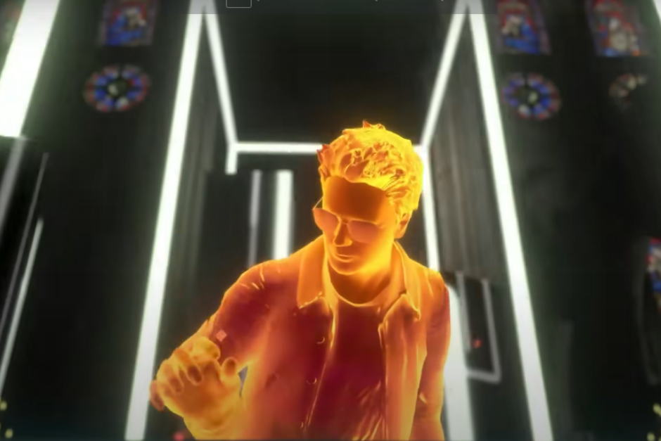 Jean-Michel Jarre Cerró El Año Con Un Espectáculo De Realidad Virtual Desde Notre-Dame