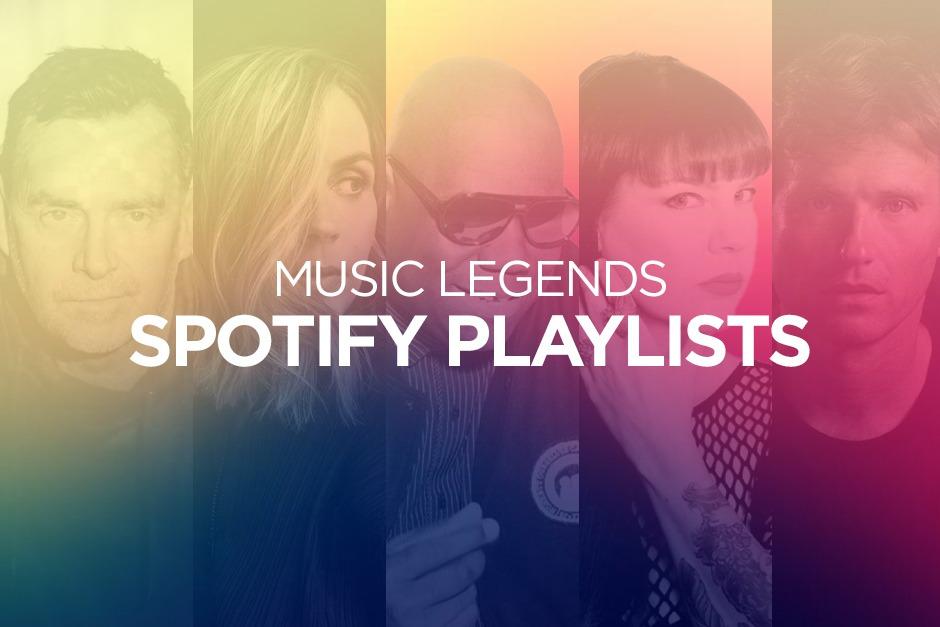 """Electronic Groove Presenta Las Listas De Reproducción De Spotify """"Music Legends"""""""