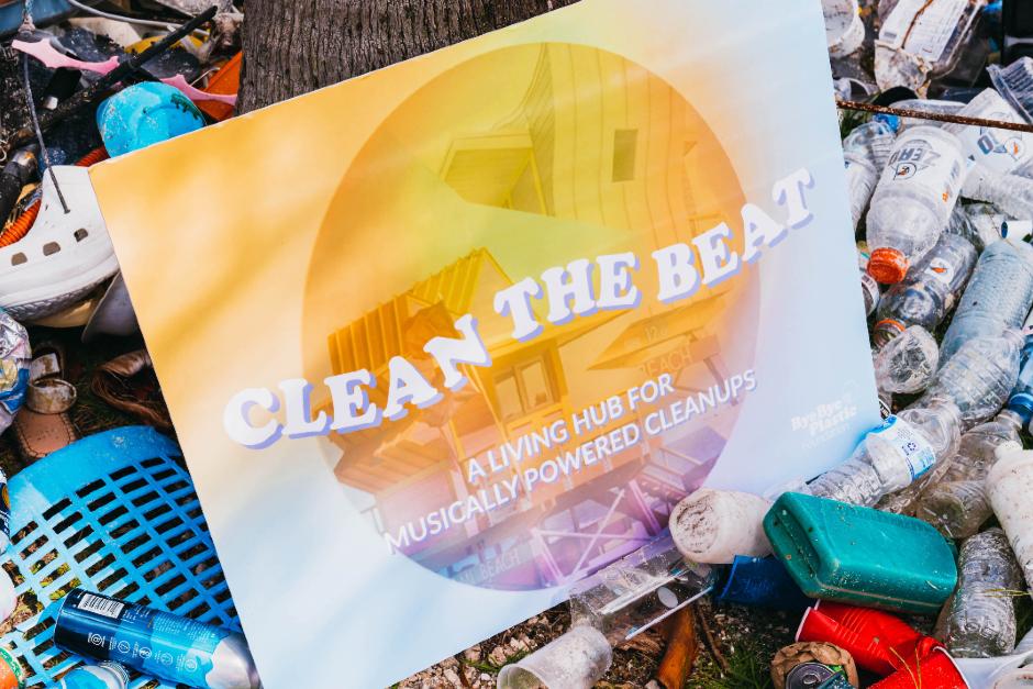 """Bye Bye Plastic y BLOND:ISH presentan el programa """"Clean The Beat"""""""